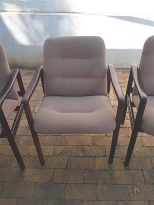 Office Reception Chairs x 4