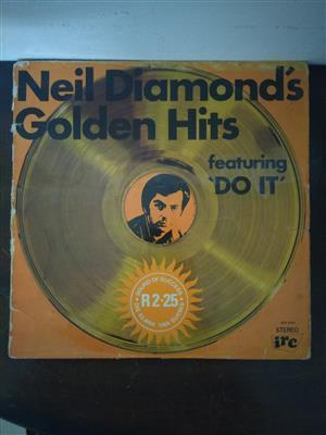 Old Neil Diamond Vinyl LP collection for sale.