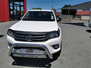 2018 Toyota Hilux 3.0D 4D Xtra cab Raider