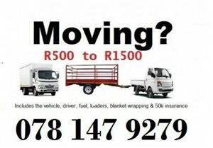2-12 ton truck closed body. For hire. - Johannesburg