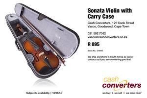 Sonata Violin with Carry Case