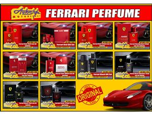 Ferrari official licensed original perfumes, eau de toilette,  fragrant gifts available