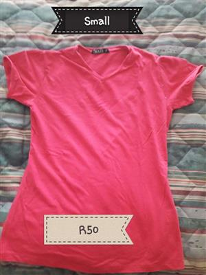 Small red shirt for sale