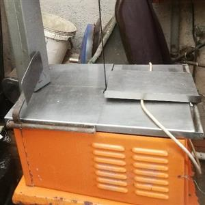 meat o matic meat bandsaw  slicing machine