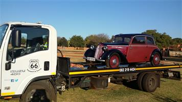 Classic Car Transport KZN / Newcastle to Gauteng.