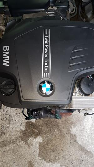 BMW F30 320i engine for sale.