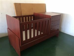 Bed in a Box Cot