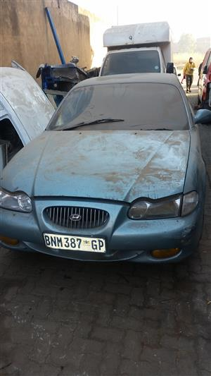 HY040 HYUNDAI SONATA 1996 G6AT 0 STRIPPING FOR SPARES