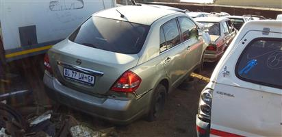 Nissan Tida used spares for sale