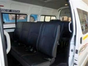 leather SEATS for your Toyota Quantum Taxi