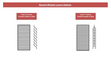 Alumint Window Louvre Options