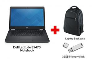 Refurbished DELL LATITUDE E5470 Core i5 Notebook