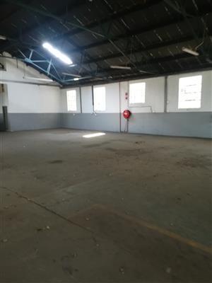 336m2 factory to let in Boksburg East