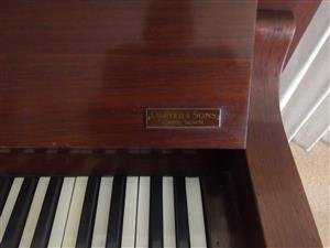 Piano and guitar for sale