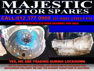 bmw x5 6hp21x used gearbox for sale