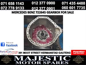 Mercedes benz 722645 gearbox for sale