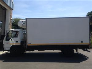 2008 Isuzu NQR500 Turbo Fridge Truck in Excellent Condition. Price is negotiable and includes VAT.