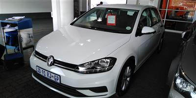 2019 VW Golf hatch GOLF VII 1.0 TSI TRENDLINE