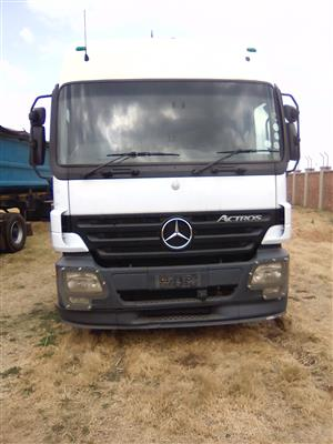 Actros truck in the market for sale!!