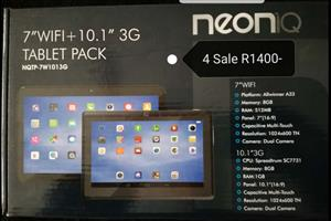 NEON IQ - 7'' WIFI + 10.1'' 3G TABLET