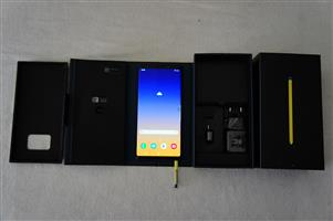 Samsung Galaxy Note9 Smartphone - Ocean Blue Like New