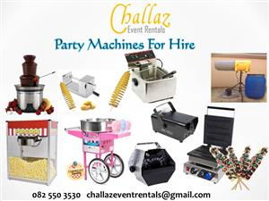 Party Machines For Hire
