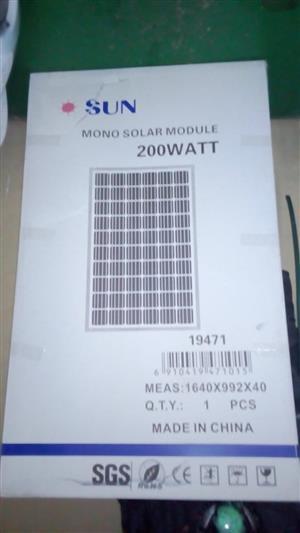 200W Sun Solar panel 12v