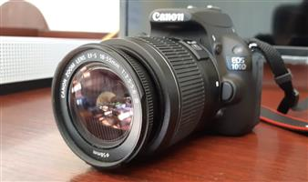 CANON EOS 100D Camera, 2 Lenses, Accessories