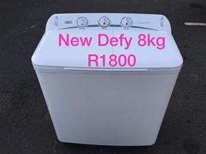 NEW Defy 8kg twin tub