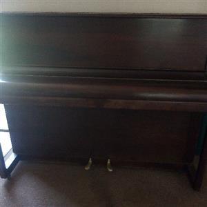 Original Eavestaff London Upright Piano
