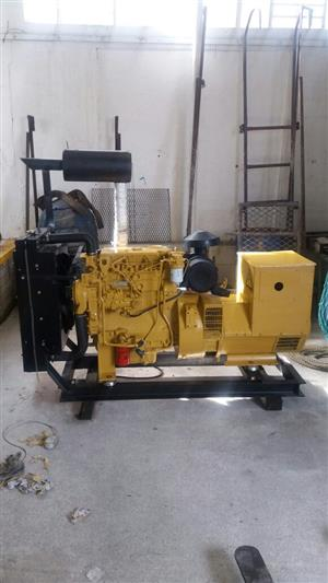 PERKINS / STAMFORD 45 KVA GENERATOR WITHOUT WIRING, 12 VOLT BATTERY AND RADIATOR TO BE MOUNTED