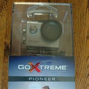 GoXtreme Pioneer Action camera, brand new, never opened