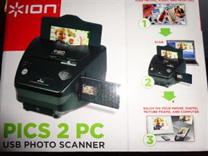 Ion Pics to PC  USB Photo Scanner (Brand New in Box -  Never been Used)