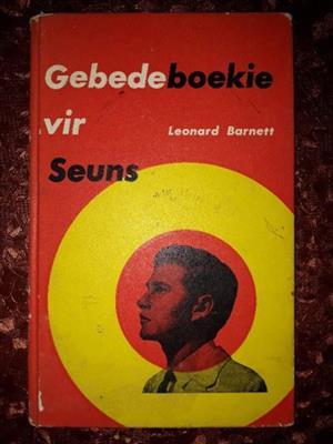 Gebedeboekie Vir Seuns - Leonard Barnett.