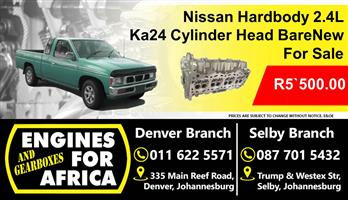 Nissan Hardbody 2.4L Ka24 Cylinder Head New For Sale