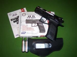 CO2 Gas Gun Cz75