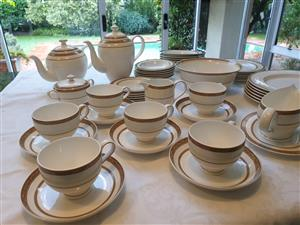 38 piece Royal Bone China dinner set