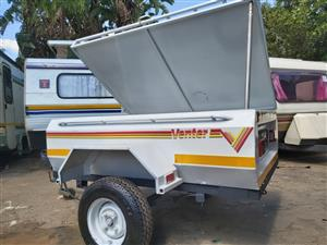 Venter Elite 5ft trailer with roofrack