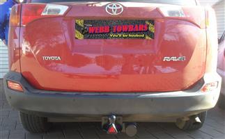Toyota Standard/Detachable Towbars, Double Tube & Step Towbars