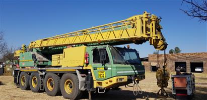 PH Projects Holding (PTY) Ltd - Online Auction - South Africa - Sale 2: Items include mobile cranes, load haul dumper, mechanical horse and trailer, excavators and many more