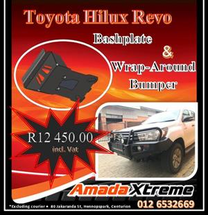 Toyota Hilux Revo Front Replacement Bumper and Bash Plate