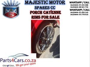 Porsche Cayenne rims for sale