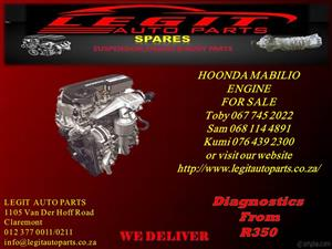 HONDA  MABILIO ENGINE FOR SALE