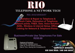 RIo Telephone and Network Tech
