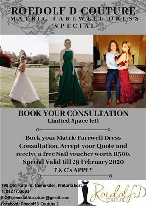 Matric Dress Special