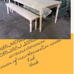 PINE TABLES & BENCHES