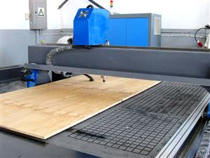 R-2040LK/30 EasyRoute 380V Lite 2050x4000mm PVC Clampable Vacuum CNC Router, 3kW Water