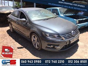 Volkswagen CC 2014 Blue Motion 2.0 TDI Stripping for Used Spares
