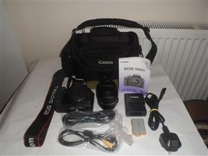 Like New Canon EOS 1000D 18MP with Canon Lens & all the attachments/ accessories Included...