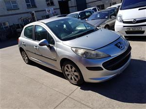 Peugeot 207 – 1.4 16v. – Petrol - Striping for Spares – all car available….